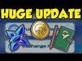 MASSIVE POKEMON MASTERS UPDATE! Pokemon Masters Money Making and Gym Leader Note Farming BUFFED!