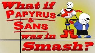 What If Papyrus & Sans Was In Smash? (Moveset Ideas: 20)