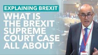 The Brexit Supreme Court Case Explained - Brexit Explained
