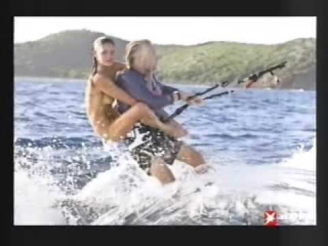 The Rich Are So Lucky - Water Skiing With Naked Girl!