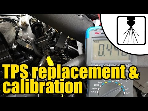 How to install & calibrate a new Throttle Position Sensor (TPS) #1208 thumbnail