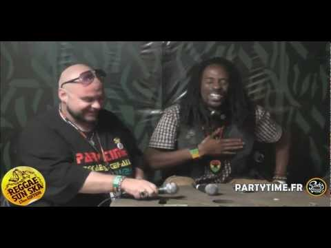 GENERAL LEVY - Interview HD at Reggae Sun Ska 2012 by Partytime.fr