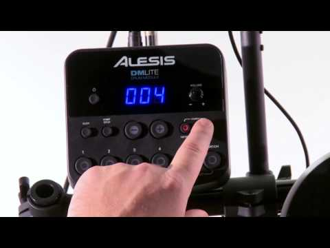 Alesis DM Lite Kit Module Overview