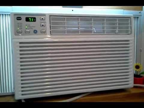 Review Of Ge 6000 Btu Air Conditioner Aew06lq Youtube