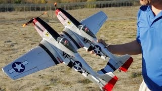 F-82 Twin Mustang RC Plane Takes Flight