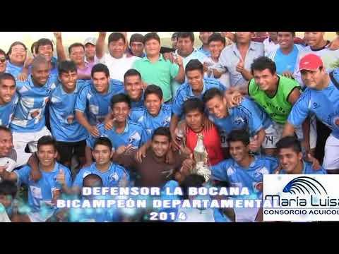 Final Departamental Copa Perú Bocana Bicampeón 2014