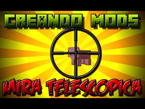 Mira Telescópica   MCreator   Creando Mods #3