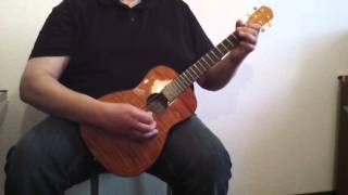 Maybe by Thom Pace - Baritone Ukulele Instrumental