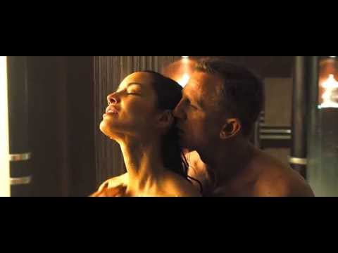Super Model BERENICE MARLOHE Hot & Wet Shower SEX Scene | HD | Skyfall thumbnail