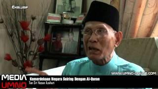 Air Mata Membasahi Pipi Ketika Laungkan Azan Pada Hari Merdeka -- Hasan Azhari
