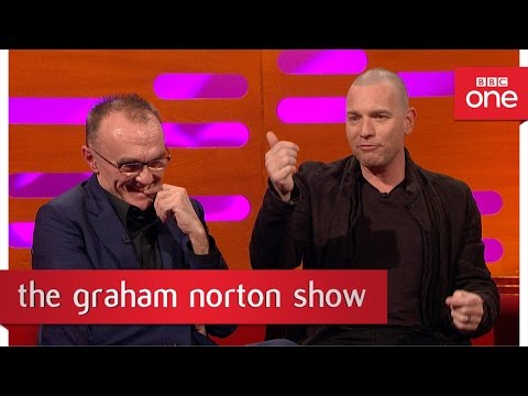 Ewan McGregor and Danny Boyle didn't speak for many years – The Graham Norton Show 2017 – BBC One