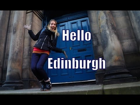 Our first impressions of Edinburgh, Scotland Travel Video
