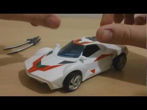 Transformers Prime deluxe wheeljack - Revisão em Portugues (Brasil)