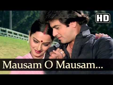 Mausam Suhane .. Jeetendra,rekha .. Judai video