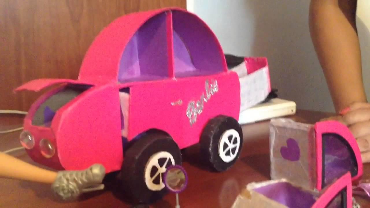 Organizador en forma de carro para ni a youtube - Como hacer un carrito de chuches paso a paso ...