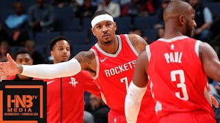 Houston Rockets vs Memphis Grizzlies Full Game Highlights | 10.12.2018, NBA Preseason
