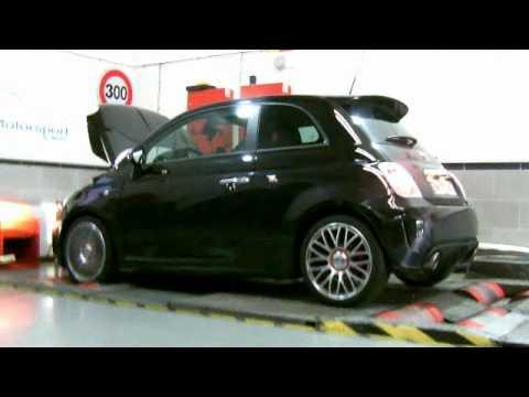 Fiat 500 Abarth 2011 Mrc Tuning Youtube