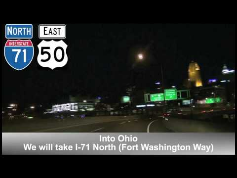 Cincinnati, OH Night Tour Part 2