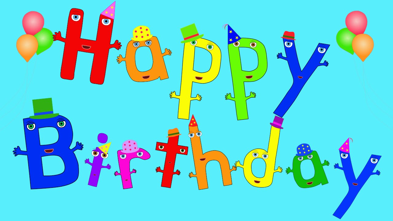 Musical Kids Youtube Happy Birthday