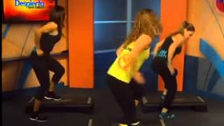 Clase de Zumba step con fitness 4 you