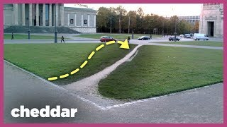 How Footpaths Help Shape Our Technology - Cheddar Explains