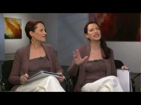 Psychic Twins On Nightline Psychic Twins Youtube