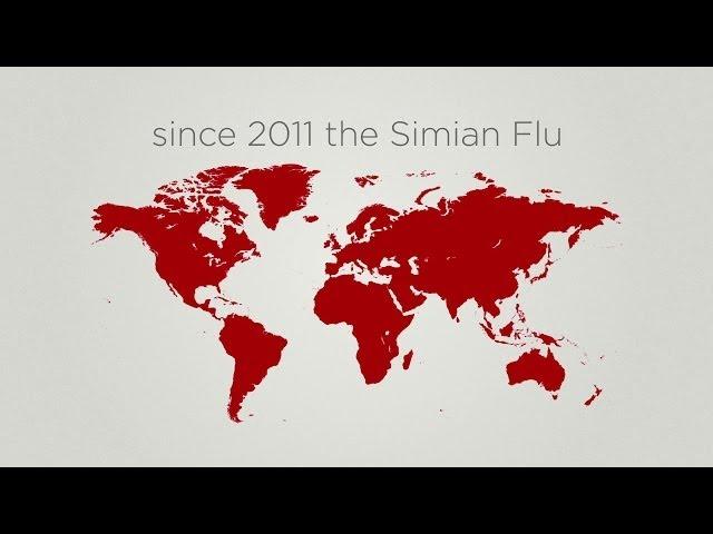 혹성탈출: 반격의 서막 - 바이럴 영상 - 유인원 독감 공익광고 (한글자막)