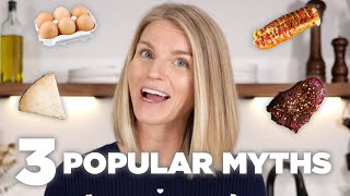 Top 3 Nutrition Myths Debunked! | Food and Nutrition Facts for Optimal Health