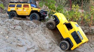 RC Cars OFF Road Sands Winch Can Help — Hummer H2 4x4 Axial SCX10 Rescue Land Rover Defender 90