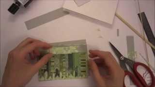Открытки из обрезков лоскутные - Скрапбукинг мастер-класс / Aida Handmade