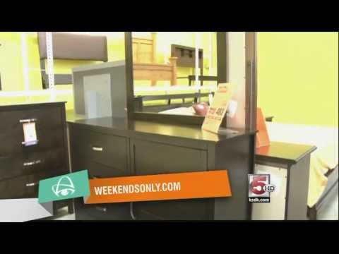 Weekends Only Furniture Outlet In St Louis Ian Queen Bedroom For 483 Youtube