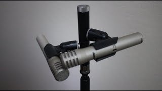 Shure A27M Stereo Mic holder VS generic mic holder comparison
