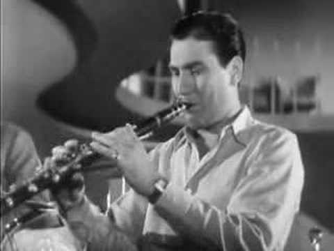 Artie Shaw (Clarinet in jazz) Video