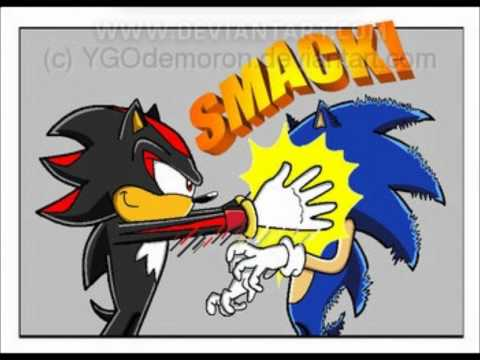 Sonic and Shadow comic