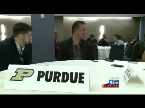 Joe Whelan reports on the Purdue basketball team at 2012 Big Ten Media Day in Chicago