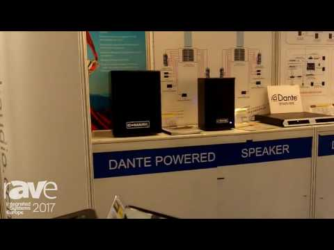 ISE 2017: BYH Shows ADD1010 Dante Network Transmitter and Dante Powered Speakers