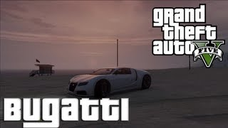 "GTA V: Secret Car Location | ""Bugatti Veyron"" (Adder) 