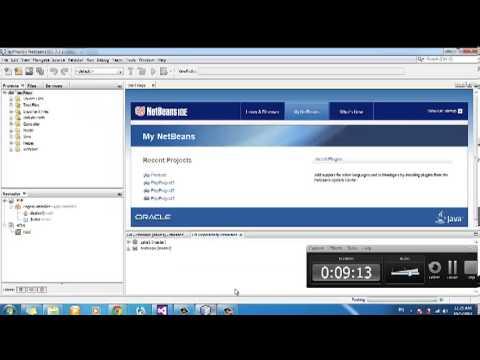 شرح اضافة مخزن برمجي لمشروع php ببرنامج الnetbeans
