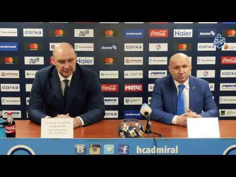Эдуард Занковец и Александр Андриевский подвели итоги встречи