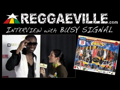 Interview with Busy Signal @Sting 12/26/2012