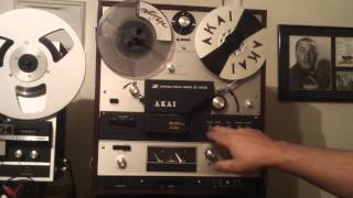 AKAI X 360D Demo. Serviced, Spark Quenchers, Caps Transistors replaced. 1969