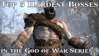 Top 5 Hardest Bosses in the God of War Series