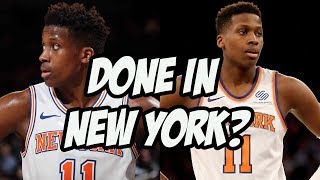The Knicks Have Probably Given Up On Frank Ntilikina