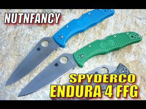 Spyderco Endura Green Spyderco Endura 4 Ffg Now
