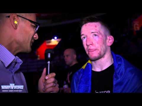Jonathan Svensson Superior Challenge 11 Post Fight Interview