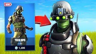 New Tech Ops Soldier Skin! (Fortnite Battle Royale)