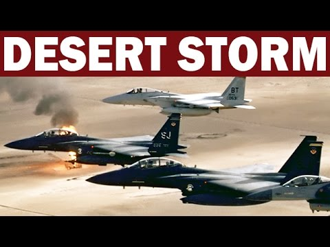 Gulf War Air Campaign - Operation Desert Storm | 1991 Bombing of Iraq | US Air Force Documentary
