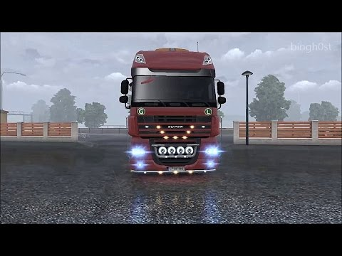 DAF Mega Mod ETS2 (Euro Truck Simulator 2)