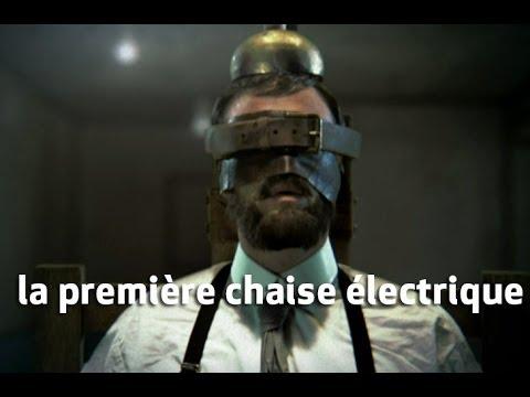 La premi re chaise lectrique exp riences interdites youtube - Chaise electrique en france ...