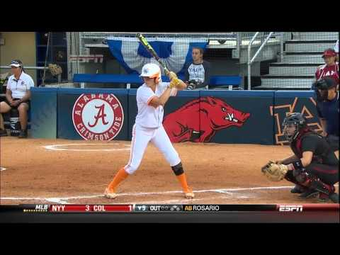 05/09/2013 South Carolina vs Tennessee Softball Highlights